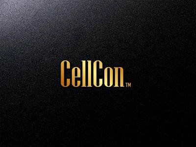 CellCon LOGO logos typography illustrator illustration vector logo design company logo branding cellcon logo cellcon logo sellcon logo