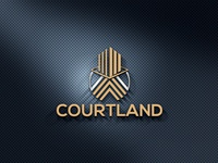 COURTLAND LOGO vector logo design branding company logo real estate branding real estate agent real estate logo realestate realistic real esate logo design real esate business real esate company real esate logo real esate