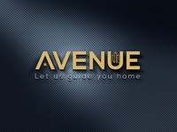 AVENUE REALTY LOGO typography illustrator illustration vector logo design company logo branding real estate branding real estate agent realestate real esate logo design