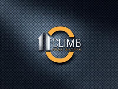 CLIMB 03 illustrator typography illustration vector logo design company logo branding real estate branding real estate agent realestate real esate logo design