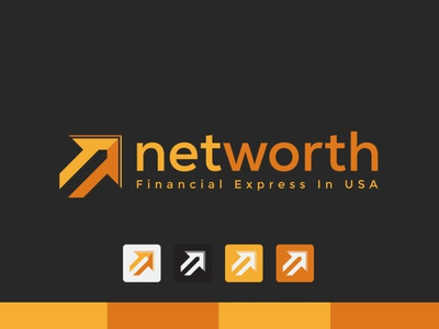 Net Worth LOGO brand logos typography illustrator illustration vector logo design company logo branding