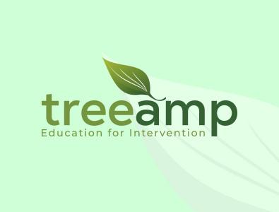 Treeamp Logo brand logos typography illustrator illustration vector logo design branding company logo