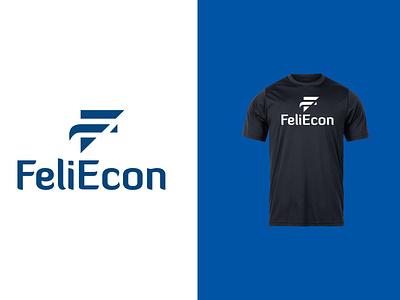 FeliEcon LOGO logos typography illustrator illustration vector logo design company logo branding feliecon feliecon