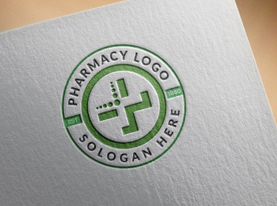 Pharmacy circle logo