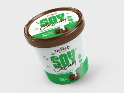 Soy Cream - Brigadeiro