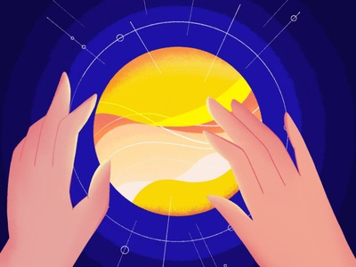 Sun and shine sunny sunrise sunset texture sky yellow blue concept design vector illustration process light hand shine sun