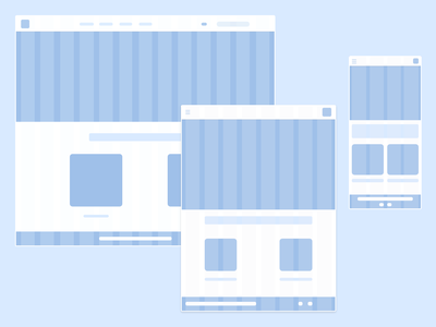 Bootstrap 4. wireframe bootstrap tablet web ux ui