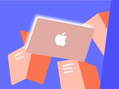 Complete Apple Search  Ads Course learn materials books search vector design ads apple ui web illustration