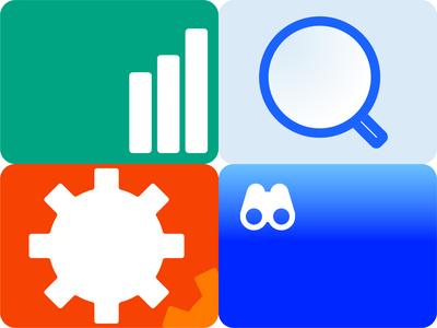 Infographic stuff vector icon app illustration presentation web ux ui