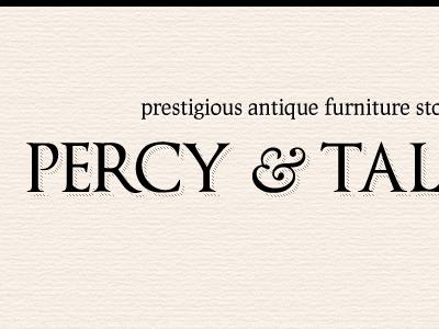 Percy & Talbot antique furniture