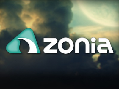 Zonia  logo design nature zirconia dental milling moon brand