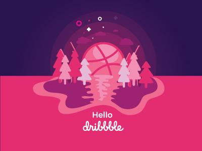 Hello Dribbble !!