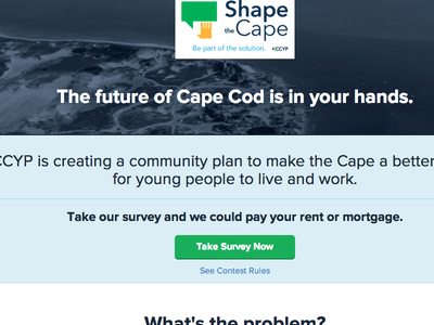 Shape the Cape web cape cod ui responsive instagram