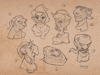 Gnome Sketches