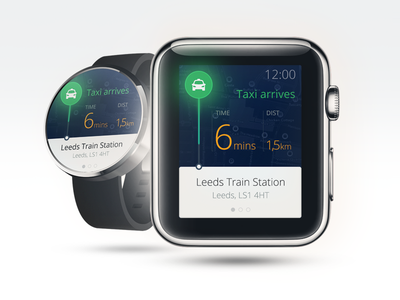 Taxi Arrives watchos app taxi