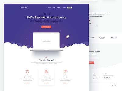 RocketHost rocket clouds plans pricing hosting web