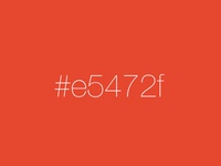 Favorite Color Playoff - E5472f