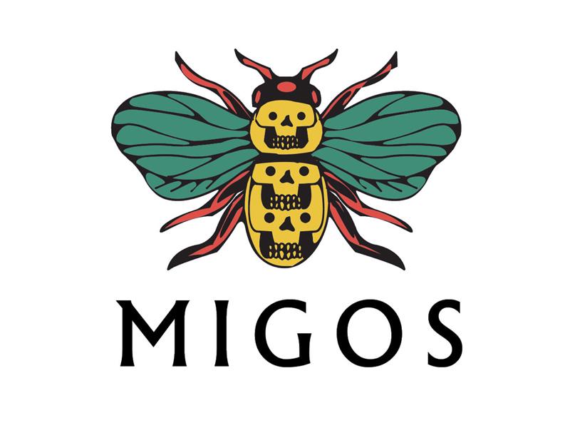 Migos Bug bloomingdales logo fly bee samborghini migos