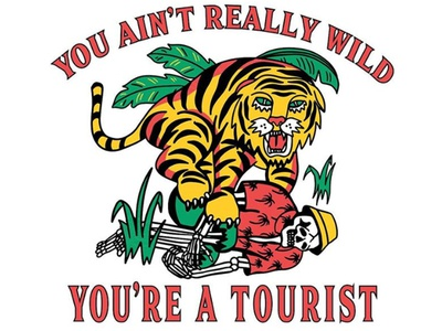 You ain't really wild...
