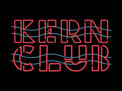 Club Neon Font