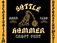 Battle Hammer Blackletter Font