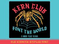 Old Kernish font