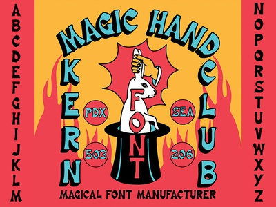 magic hand font