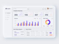Neumorphic E-commerce Dashboard