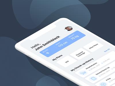 Healthcare App Concept mobile design health app healthtech patient portal medical app healthcare app