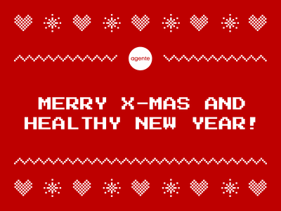 Dribbble Merry X Mas newyear christmas