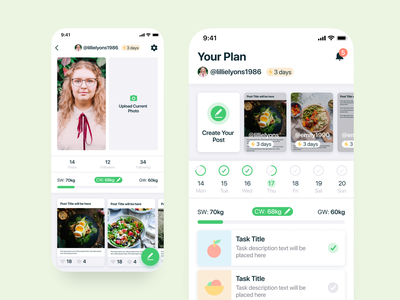 Design for a Mobile App for Healthy Weight Loss research mapping personas ux research agente ux design ui ui design
