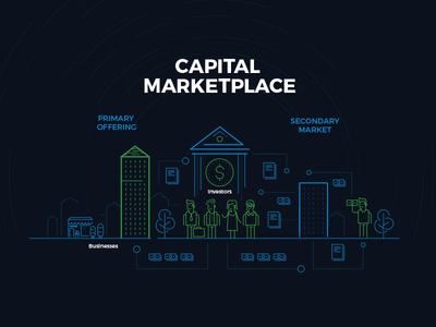 Capital Marketplace illustration