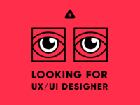 Looking for UX/UI designer