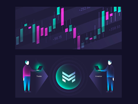 Cryptocurrency trading Platform Graphics
