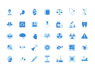 Agente Medical Icons Set