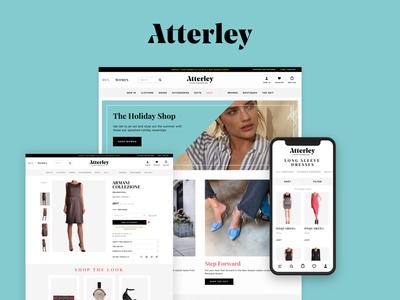 Atterley E-commerce Fashion Website