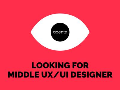 UX/UI Designer Wanted