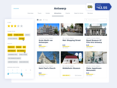 Travel App Filtering