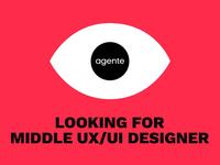 UX/UI Designer wanted!