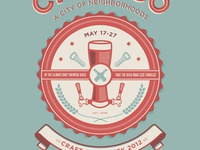 Chicago's craft beer week poster