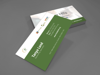 The Hills Business Card