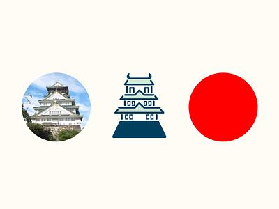 ICON - OSAKA, JAPAN design illustration icon