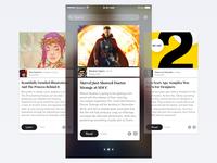 News Reader iOS App – Showcase