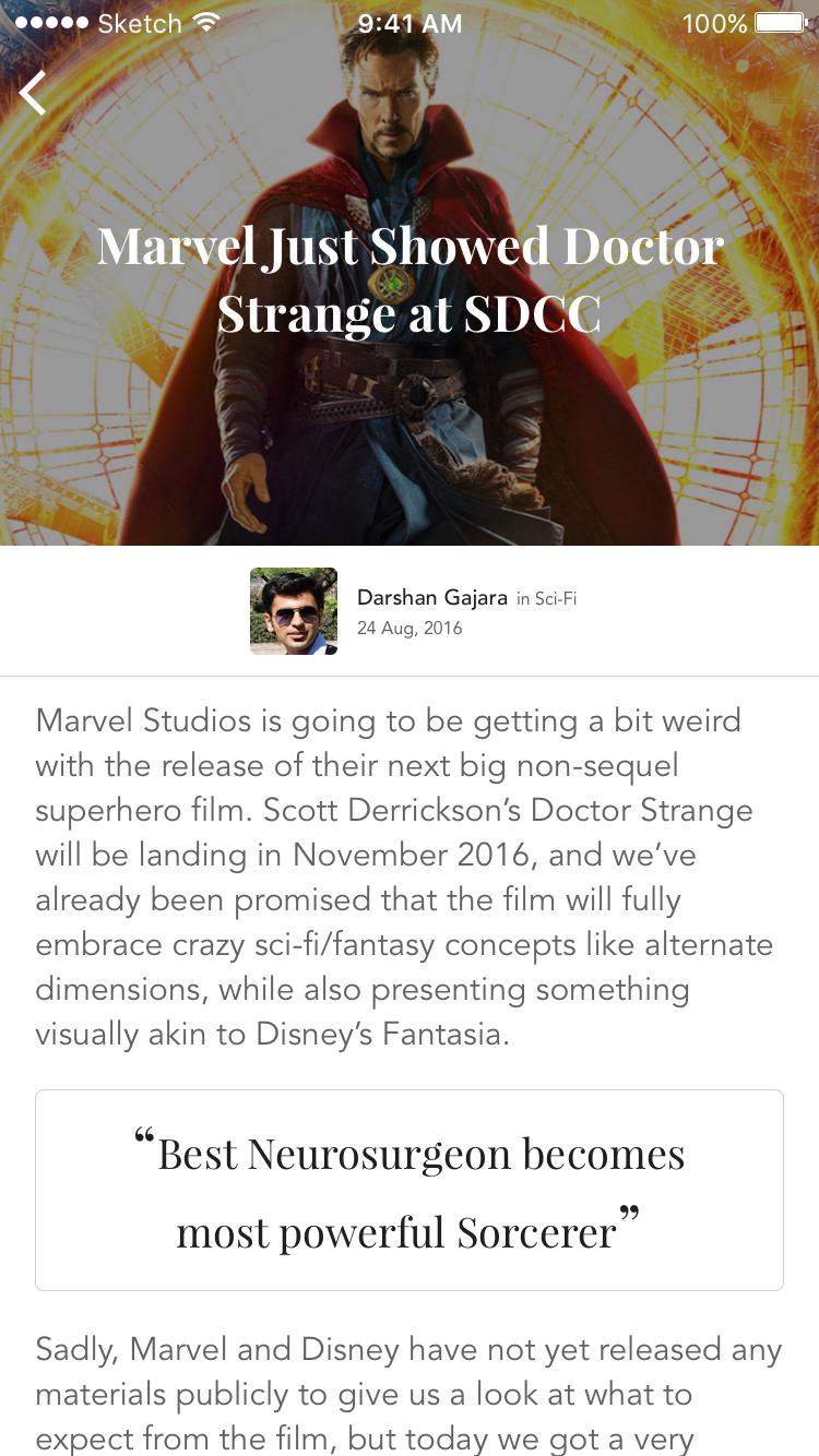 Dr. strange blog