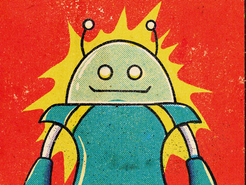 Model ZX3-03, detail art halftone character texture retro procreate illustration