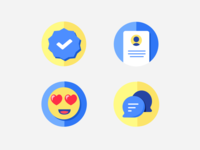 Onboarding icons WIP