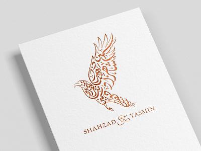 Calligraphy Wedding Emblem wedding invite wedding card typography logo emblem arabiccalligraphy arabic calligraphy wedding design creative