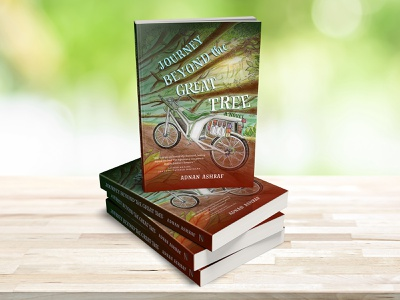 Journey Beyond the Great Tree novels coverdesign book cover books print illustration graphic design typography creative design