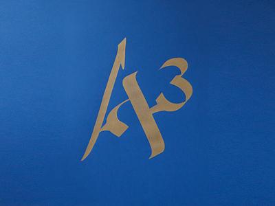 A to the Power of 3 religion logo design graphic design design logo unity islam judaism christianity english hebrew arabic