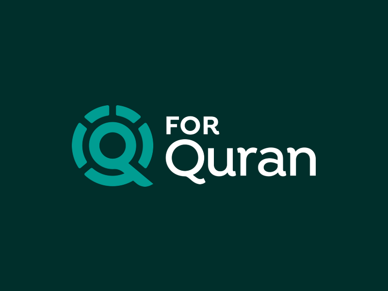 QforQuran Logo app islam quran branding brand logo design creative qforquran
